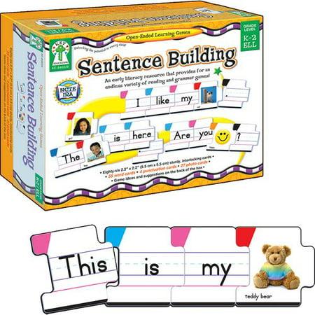 Sentence Building (Frank Schaffer Publications/Carson Dellosa Publications Sentence Building Flash)