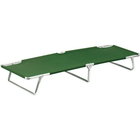 Olive Drab - Military Sturdy Camping Cot 264-lbs - -