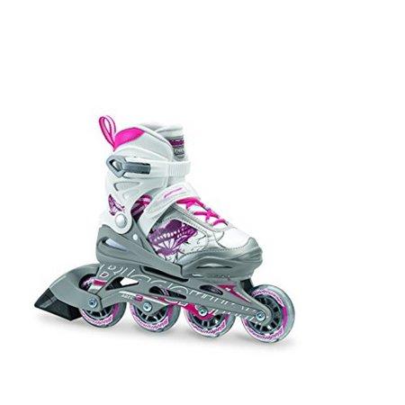 Rollerblade Bladerunner Phoenix Girls Adjustable Fitness Inline Skate, Size