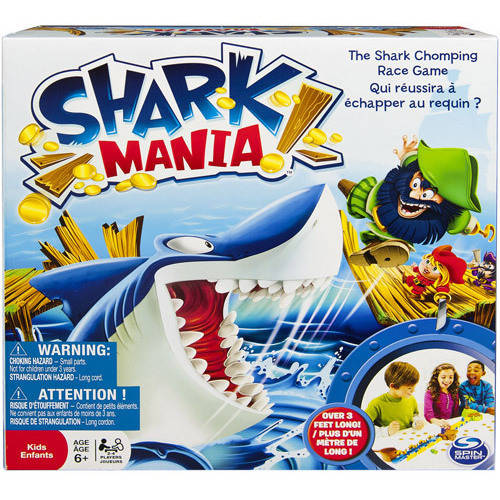 Spin Master Games Shark Mania Board Game