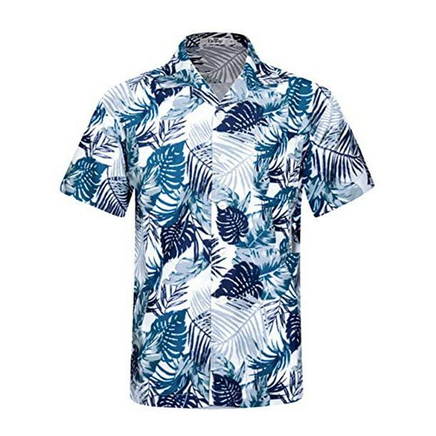 Lelinta - LELINTA Mens Casual Button-down Shirts Hawaiian Shirt ...