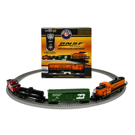 Freight Electric Train Set (Lionel BNSF RS 3 Scout Freight Electric O Gauge Model Train Set with Remote and Bluetooth Capability)