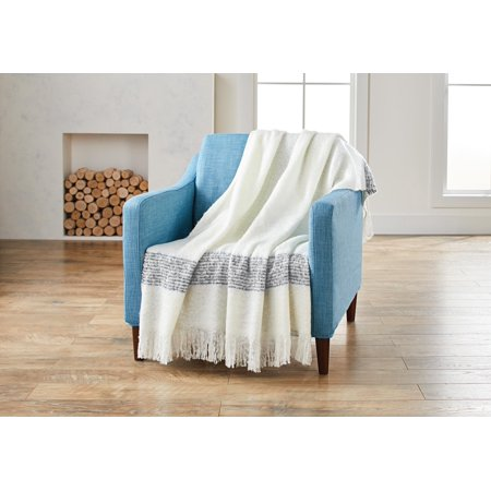 Better Homes & Gardens Faux Mohair Plaid Throw Blanket, 1 Each