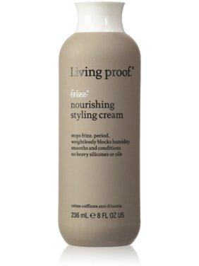 Living Proof No Frizz Nourishing Hair Styling Cream, 8 Oz