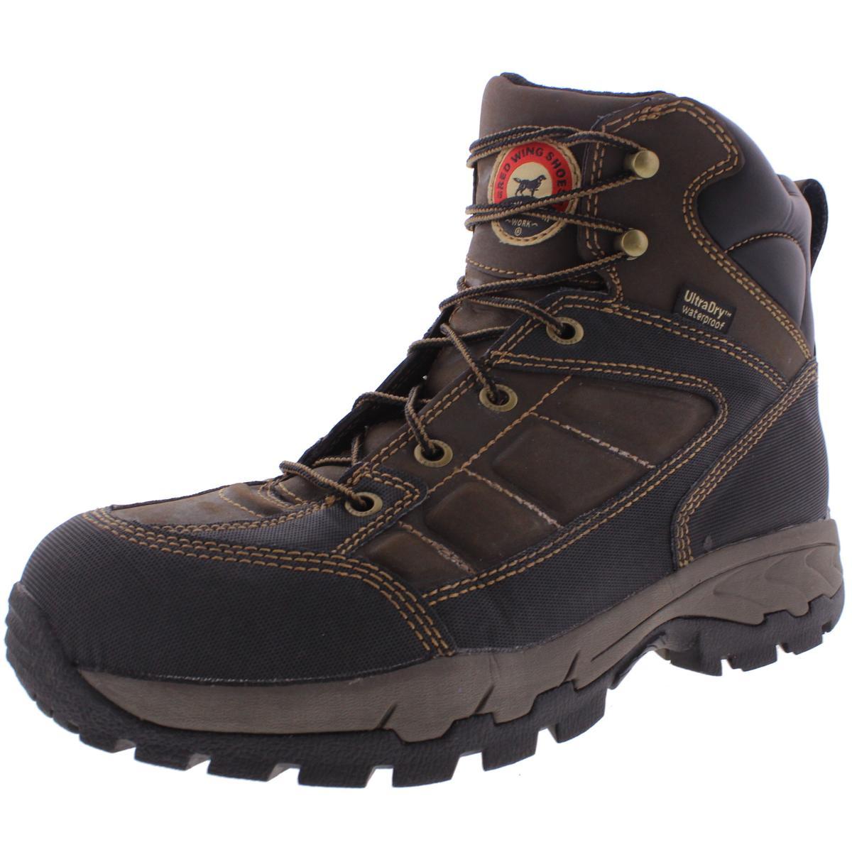 "Irish Setter Men's 83400 6"" Aluminum Toe Work Boot,Brown,..."
