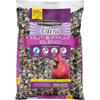 Pennington Ultra Fruit & Nut Blend, Wild Bird Seed and Feed, 5 lb. bag