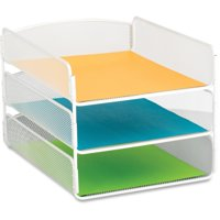 Safco, Onyx Letter Tray, 1 Each, White