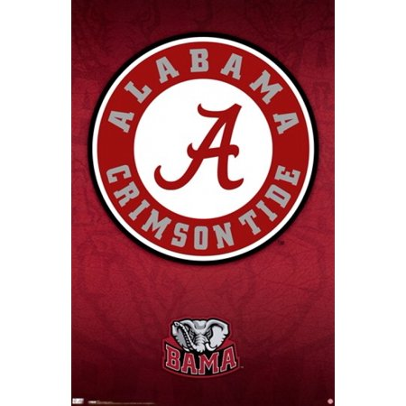 10 Piece Poster (University of Alabama - Logo 10 Poster)
