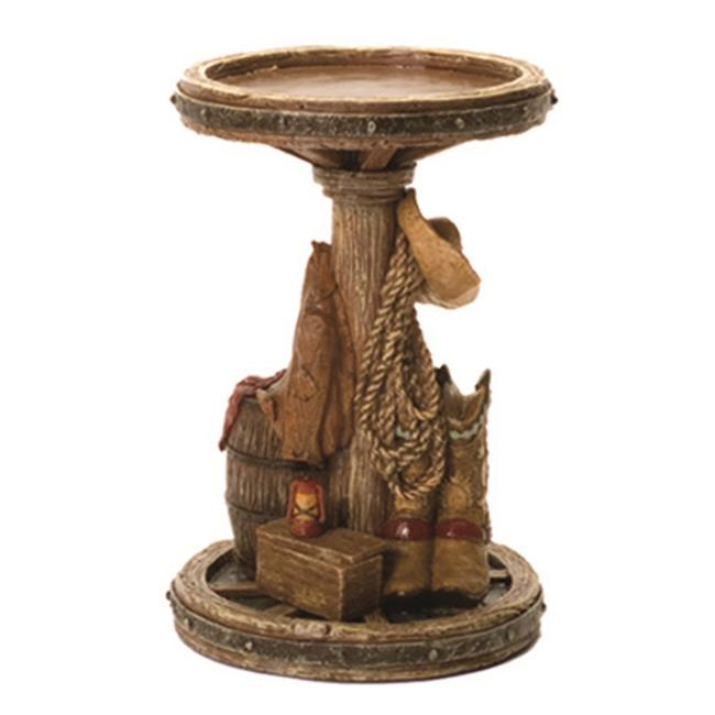 Acadian Candle 9051 Wagon Wheel Candle Holder