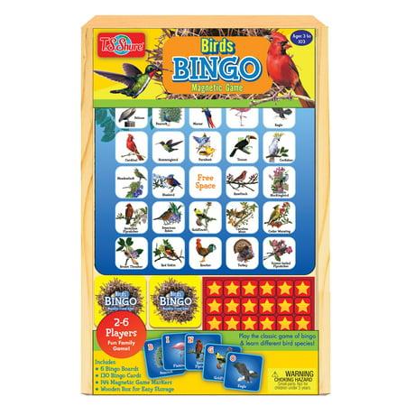 - T.S. Shure - Bird Bingo Wooden Magnetic Game