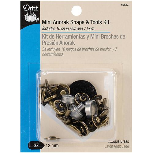"""Dritz Mini Anorak Snaps & Tools, 5/32"""""""