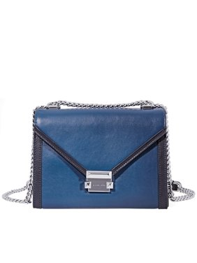 0cbe74060f83 Product Image Michael Kors Whitney Large Shoulder Bag- Blue Black