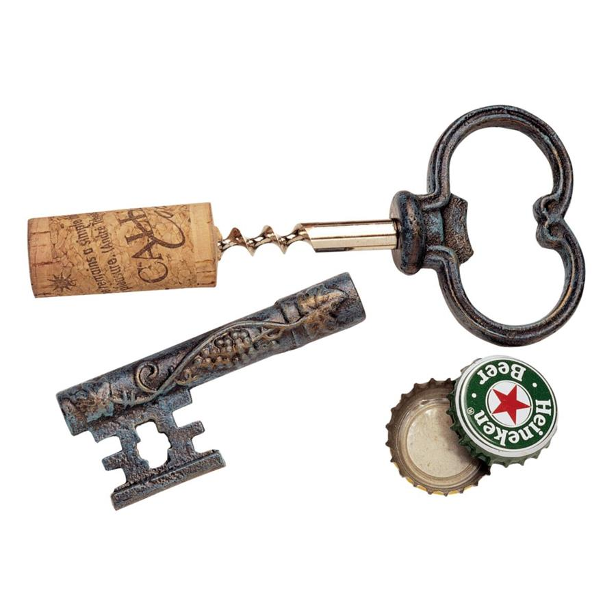 Design Toscano The Bishop's Church Key Corkscrew and Bottle Opener by Design Toscano