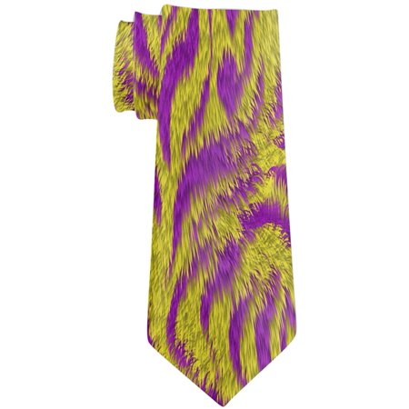 Mardi Gras Cajun Tiger Costume All Over Neck Tie](Makeup For Mardi Gras)