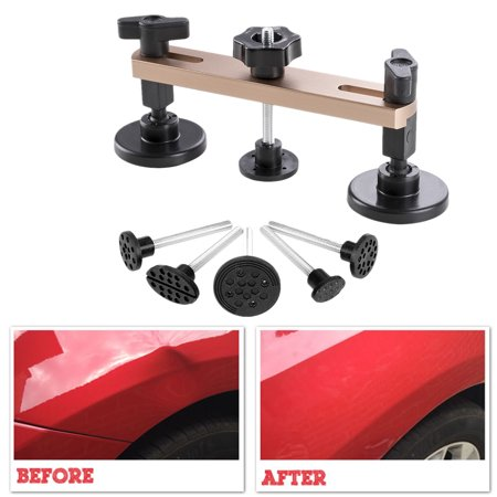 Car Paintless Dent Repair Kits Tools Pops a Bridge Puller for Automotive Body Hail Damage (Best Paintless Dent Removal)