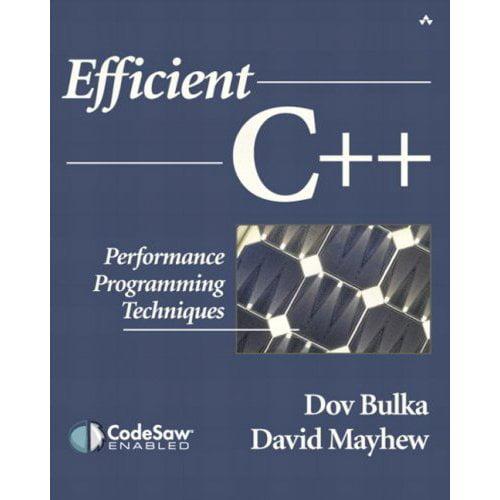 Efficient C++: Performance Programming Techniques