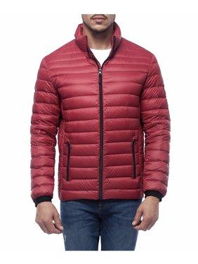 Rokka&Rolla Men's Ultra Lightweight Water-Resistant Packable Down Puffer Jacket