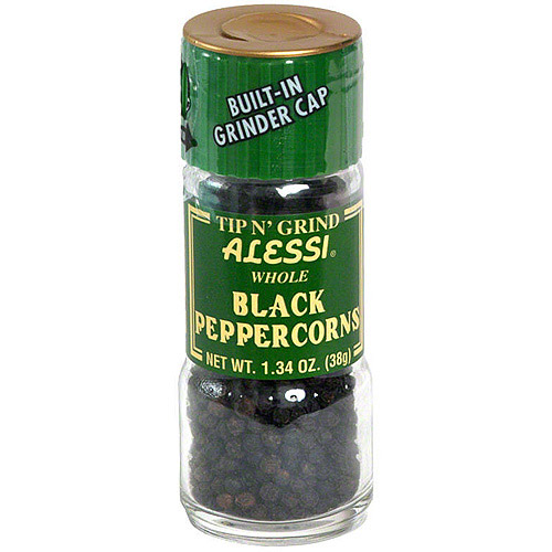 Alessi Black Peppercorn, 1.34 oz (Pack of 6) by Alessi