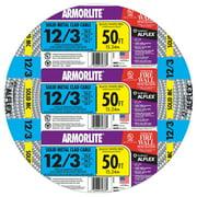 Southwire 68583452 50' 12/3 Type MC Cable Aluminum