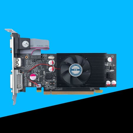 Geforce Chipset Video Graphics Card GT610 1GB DDR2 for PC and LP