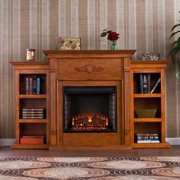 Fredricksburg Electric Bookcase Fireplace