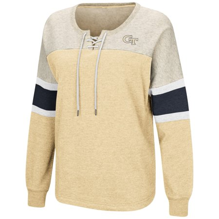 Drinking Team Adult Sweatshirt (Georgia Tech Yellowjackets Women's NCAA