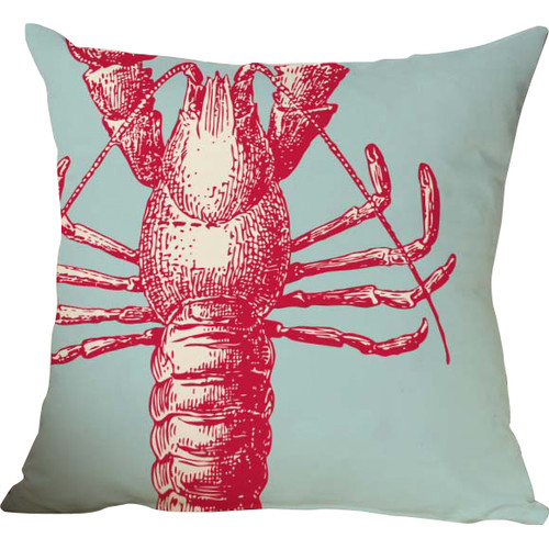 Checkerboard, Ltd Lobster Throw Pillow