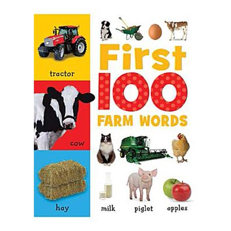 First 100 Farm Words (Made Up Halloween Words)