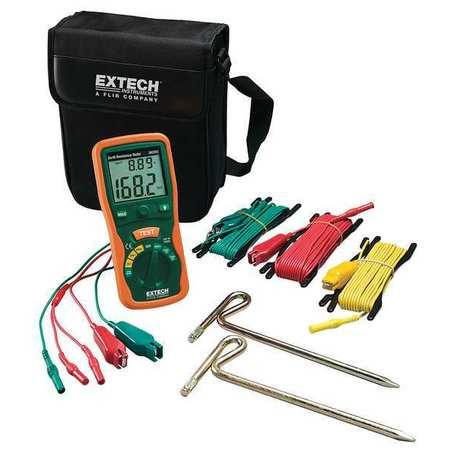 Earth Ground Tester Kit,820 Hz EXTECH 382252
