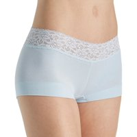Maidenform® Cotton Dream® Boyshort With Lace , Size - 6