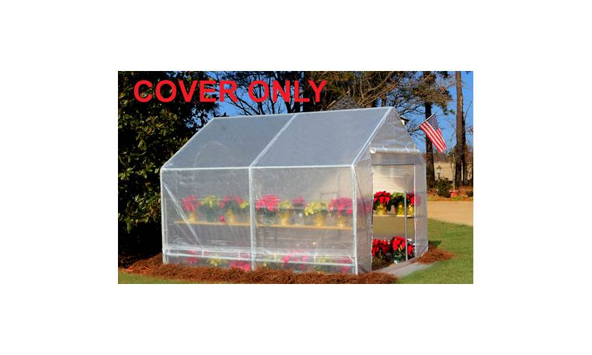 White Greenhouse Cover for 10x10- FR5 by PIC America, LTD