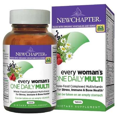 New Chapter Chaque femme de One Daily multivitamines, comprimés 72 ch