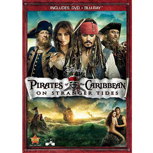 Pirates Of The Caribbean: On Stranger Tides (DVD + Blu-ray) (DVD Amaray)