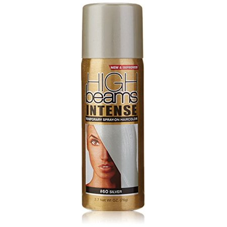 High Beams Intense Temporary Spray On Hair Color Silver 27 Ounce  Walmart