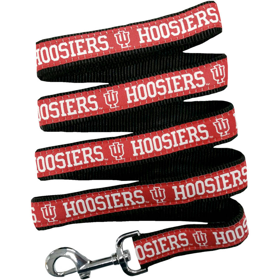 Pets First College Indiana Hoosiers Pet Leash - Available in 51 College Teams, & in 3 Sizes!
