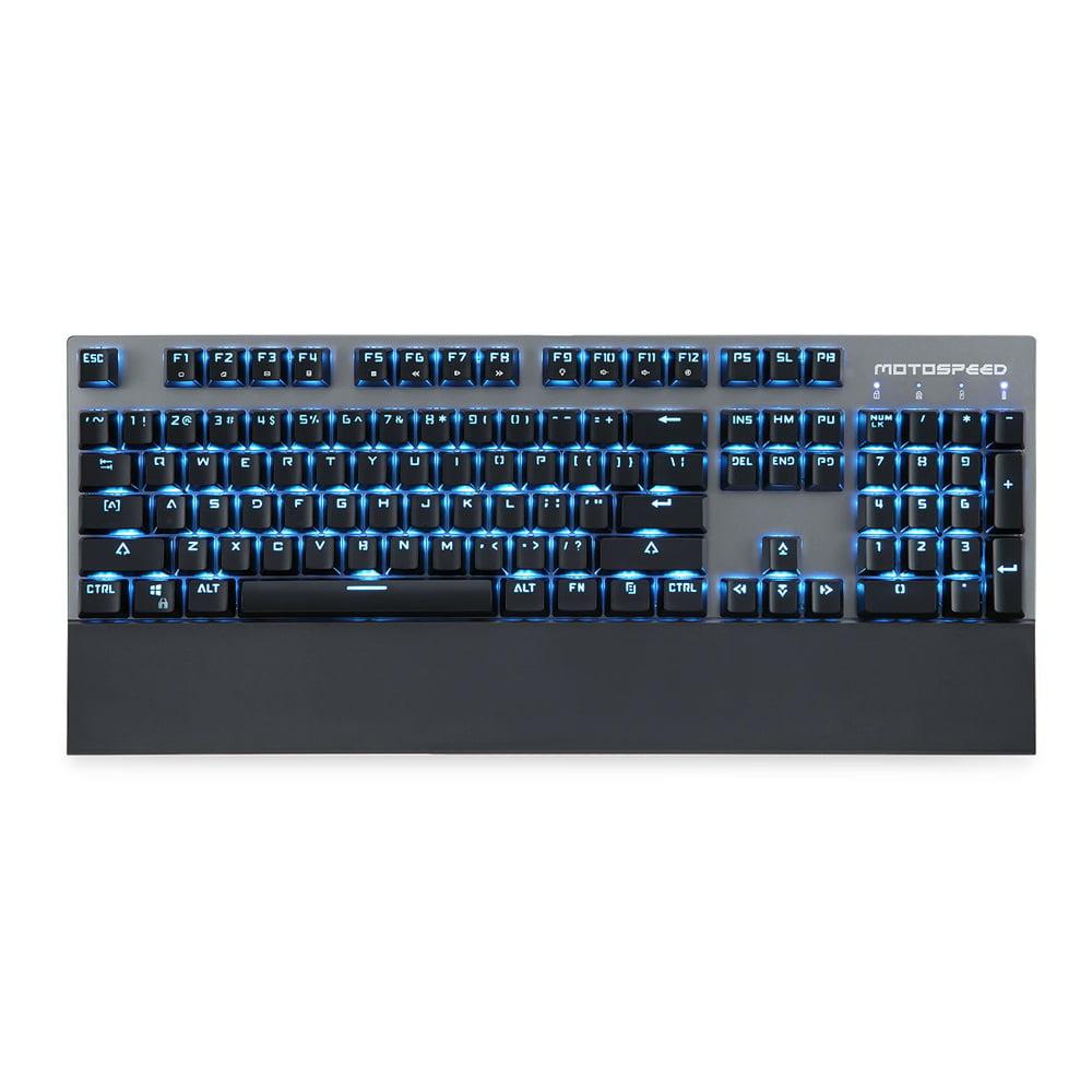 Motospeed GK89 2.4GHz Wireless / USB Wired Mechanical Keyboard with RGB Backlit 104Keys Wireless Gaming Keyboard For Gamer