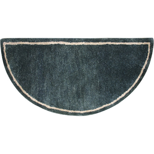 Uniflame Half-Circle Hearth Rug, Forest Green