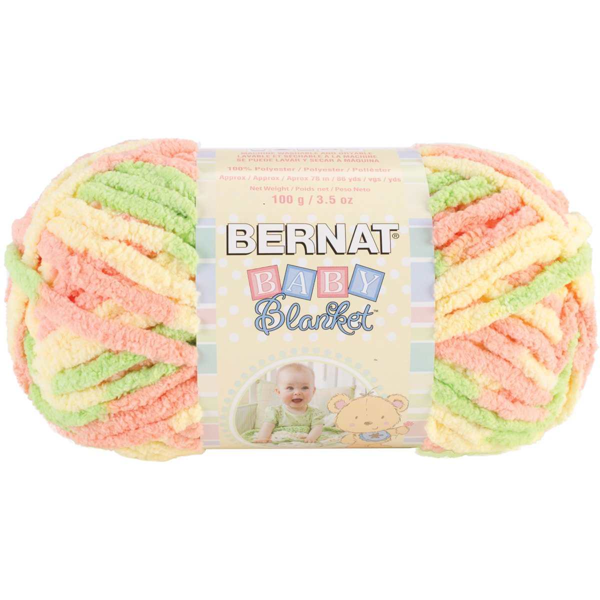 Bernat Baby Blanket Yarn-Little Sunshine