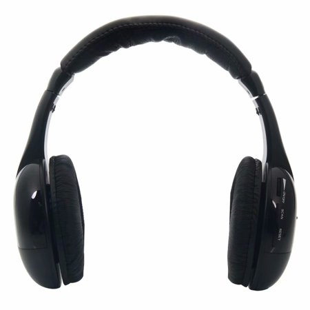 Clearance!5 in 1 Wireless Headphones for MP3 PC TV