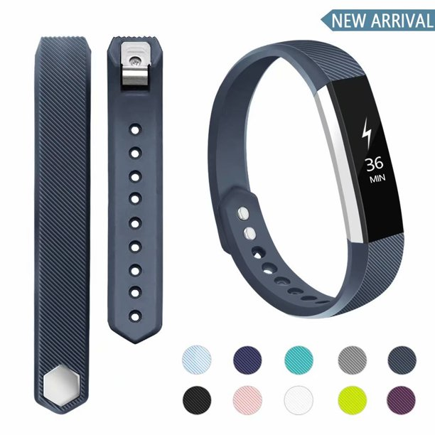 Poy Poy For Fitbit Alta Fitbit Alta Hr Bands Replacement Adjustable Sport Wristbands For Women Men Slate Small Walmart Com Walmart Com
