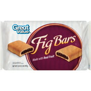Great Value Fig Bars Cookies, 32 Oz