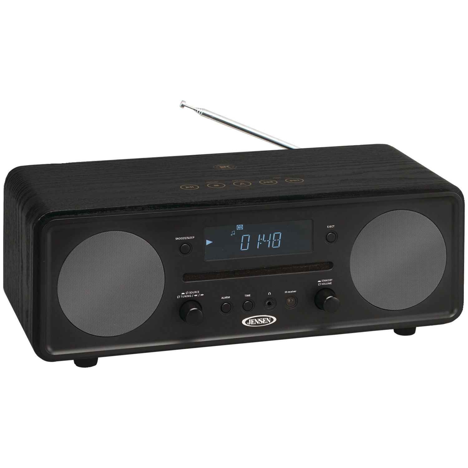 JENSEN JBS-600 Bluetooth Digital Music System with CD Player by Jensen