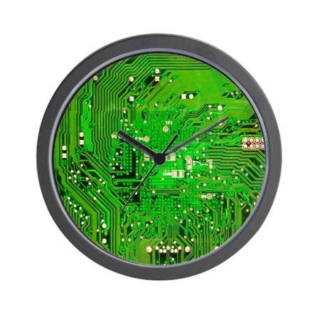 Tone Clock Circuit - CafePress - Circuit Board - Green - Unique Decorative 10