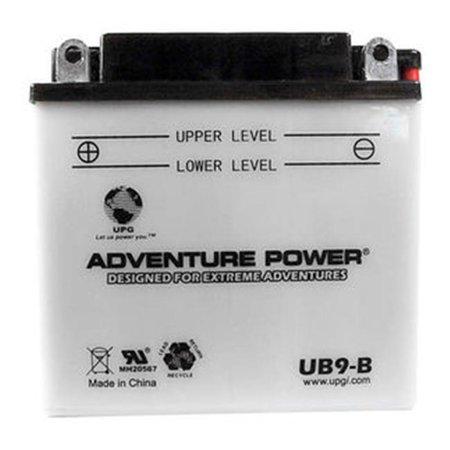 Upg 42511 Ub9-B  Conventional Power Sports Battery - image 1 de 1