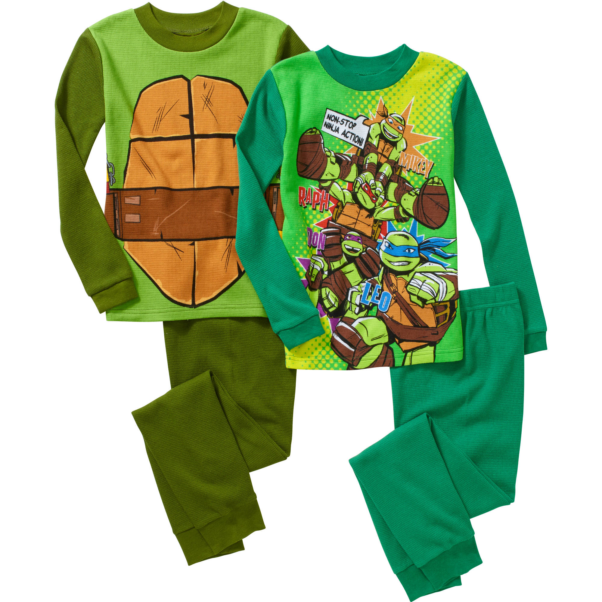 Boys' Licensed 4 Piece Thermal Set, Available in 3 Characters