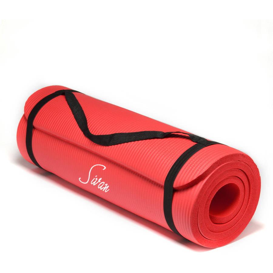 Sivan Health and Fitness NBR Yoga Mat