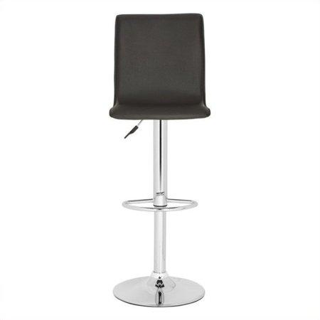 Peachy Safavieh Magda 23 2 29 5 Chrome Steel Bar Stool In Brown Lamtechconsult Wood Chair Design Ideas Lamtechconsultcom