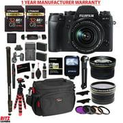 Fujifilm X-T1 16MP Digital Camera USA (Weather Resistant) + 18-55mm Lens Kit