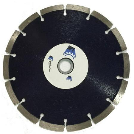 Segmented Dry Diamond Blade (3-Pack DPT 7 Inch Diamond Saw Blade Segmented Dry for Cutting , Concret, Light Weight Blocks, Bricks, Stone, and Masonry Materials, Super Plus Quality )