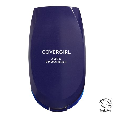 The Natural Sheer Foundation - COVERGIRL Smoothers AquaSmooth Makeup Foundation 715 Natural Ivory